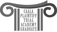 CAALA Plaintiff trial academy graduate